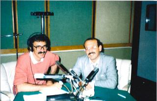 А бяхме млади - с Чавдар се кефим в студиото.