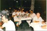 """Екипът, който осъществи един """"цял ден"""" по """"Хоризонт"""" от Кипър. В средата е директорът на Кипърското радио Таки, който направи от командировката ни незабравимо преживяване, включително кулинарно и винарно."""